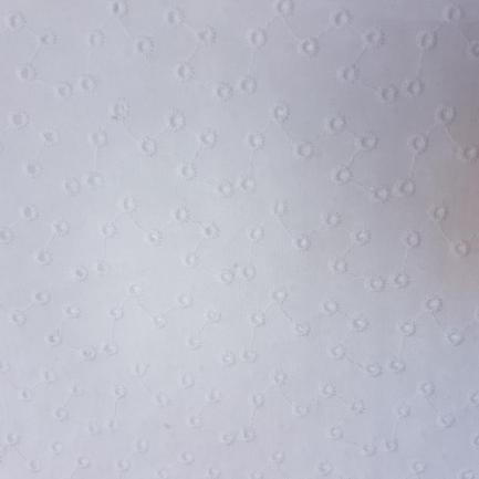 Bordado Inglês 100% Algodão S082-60766 Moléculas