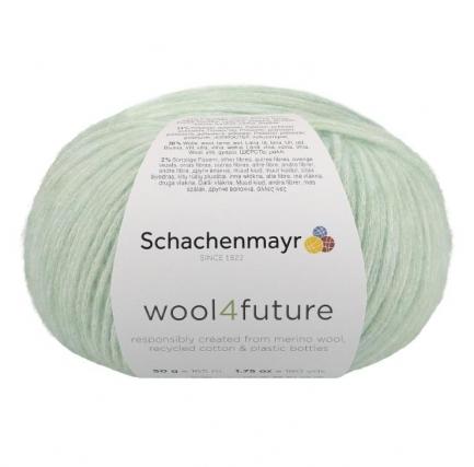 Fio wool4future cor 00060 - Menta