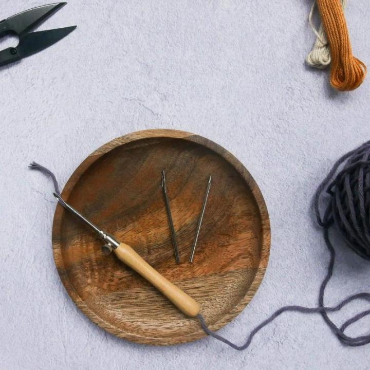 Agulha mágica | Fada do Lar | Punch Needle (Linhas finas a médias) - Lavor (40100)