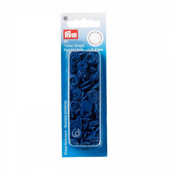 Molas de Pressão Prym - Azul (393158)