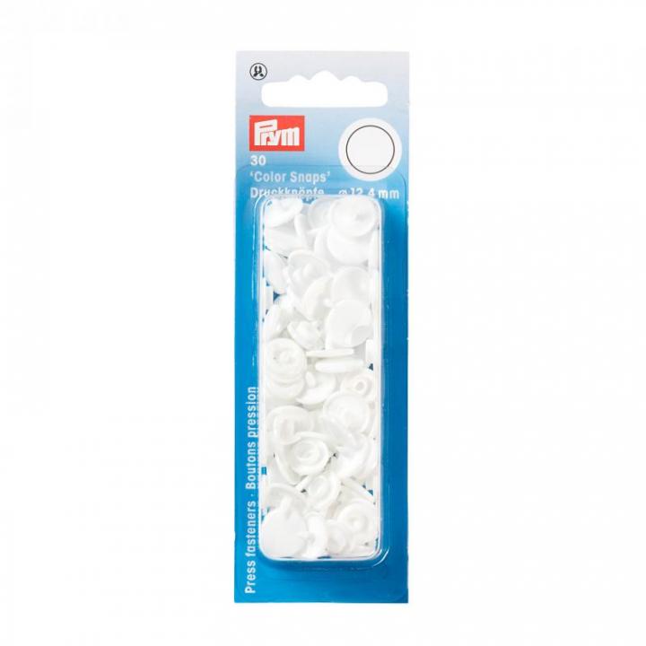 Molas de Pressão Prym - Branco (393103)