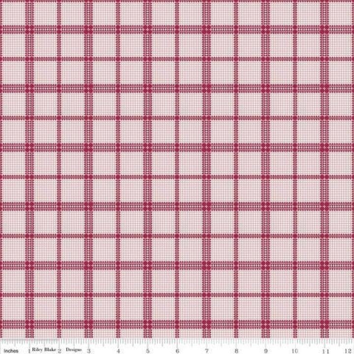 Tecido 100% algodão c7067 - Rustic Plaid
