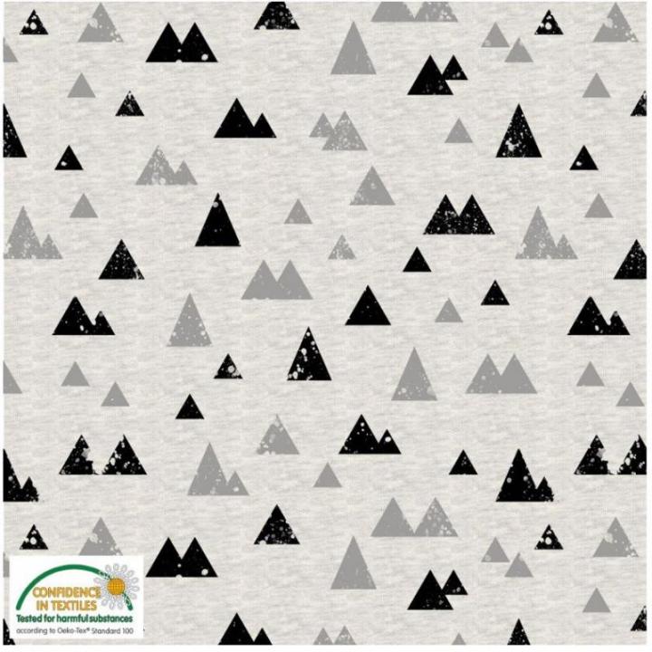 Tecido Malha Jersey Avalana - Montanhas