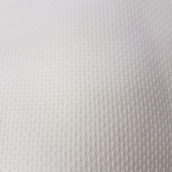 Tecido Quadrilé Ponto Largo - Branco (10TA)