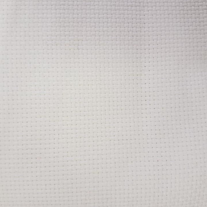 Tecido Quadrilé Ponto Médio - Branco 2145