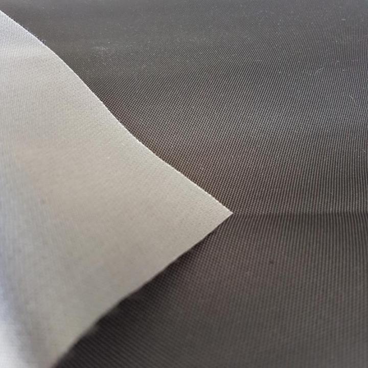 Tecido Nylon Plastificado antracite largura 147cm 454202