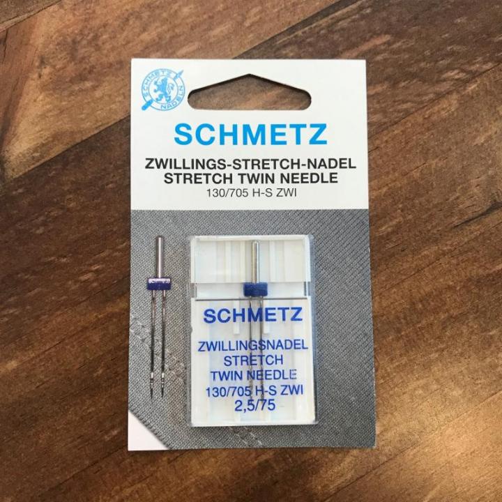 Agulha Dupla Stretch Schmetz130/705 H-S ZWI 2,5/75