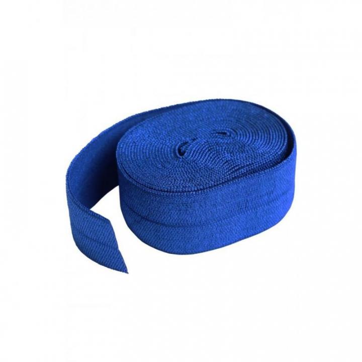 Fita de viés elástica de debrum azulão