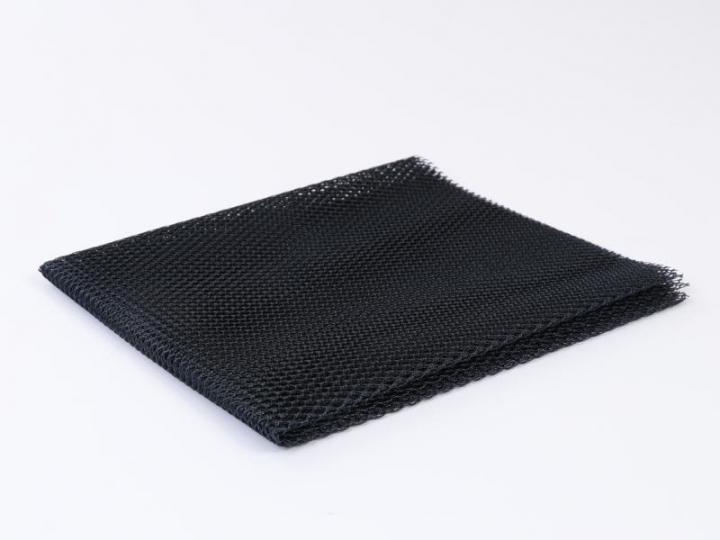 Tecido rede mesh azul escuro