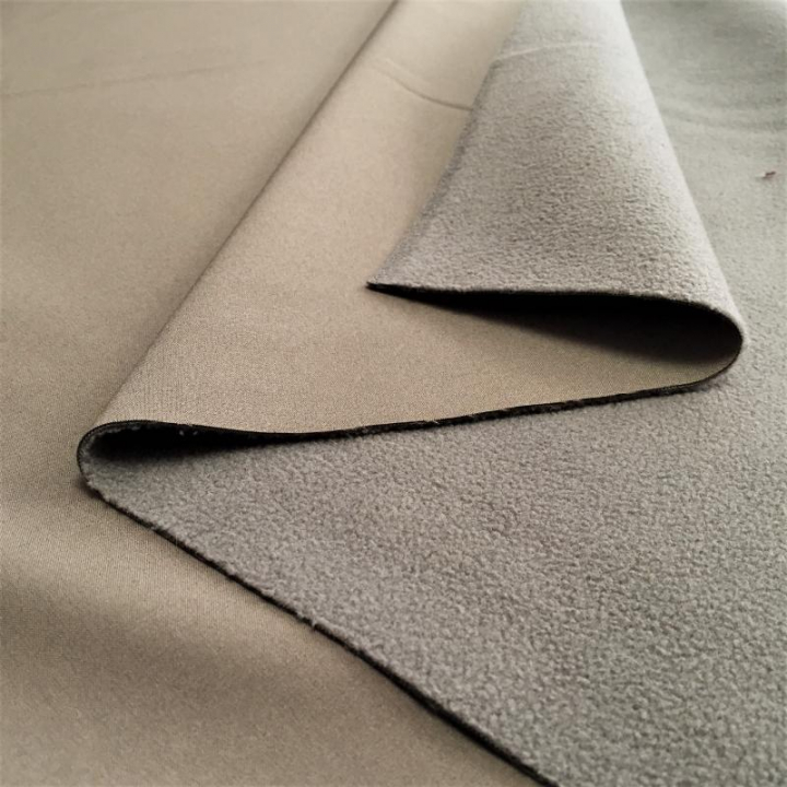 Tecido SoftShell - Taupe