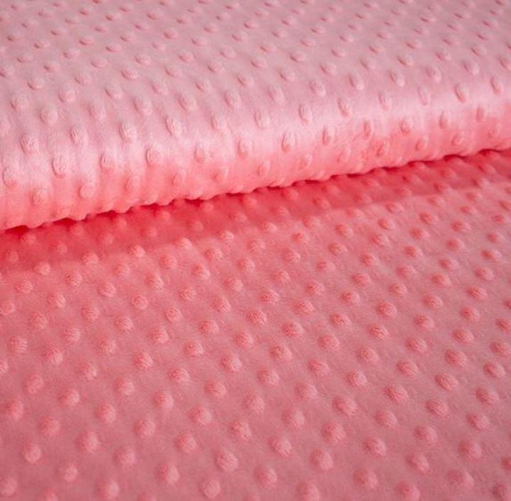 Tecido Minky - Coral