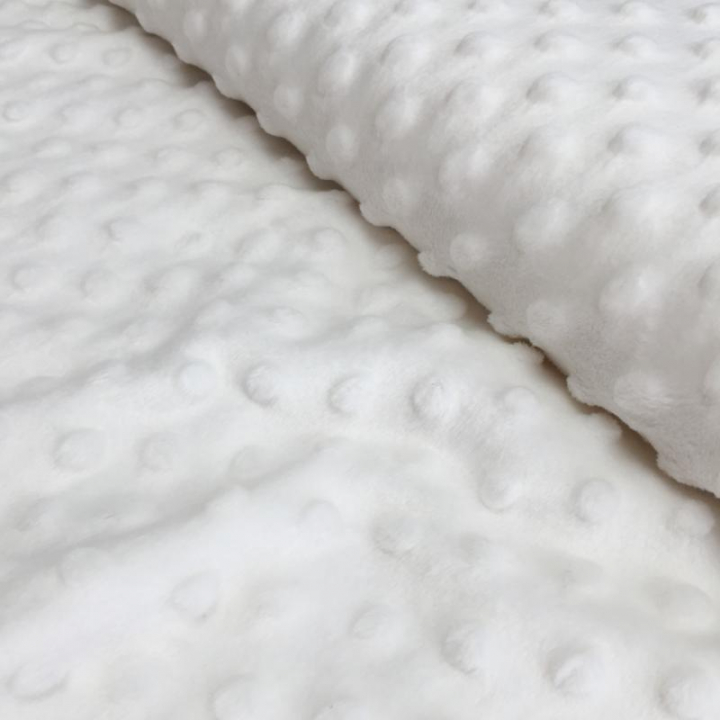 Tecido Minky - Branco