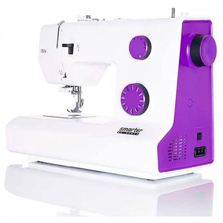 Máquina de costura Smarter Pfaff 150s (roxa)