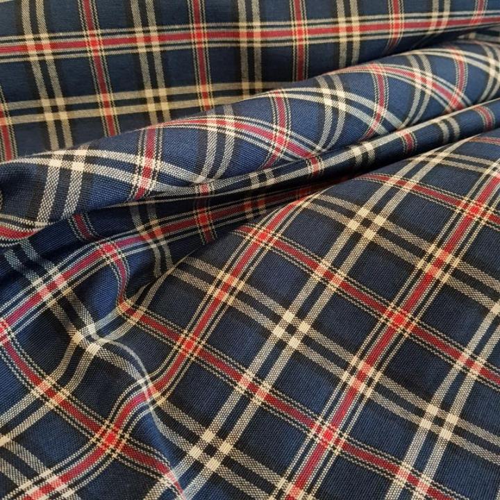 Tecido Escocia-013-L Azul