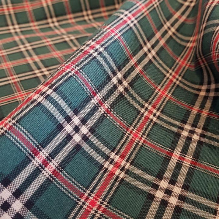 Tecido Escocia-012-L Verde