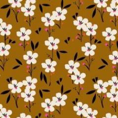 Tecido  100%  Rayon 140cm Dash-soireerayon-1506_brown