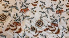 Tecido Seda floral