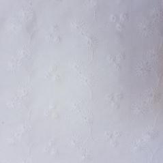 Bordado Inglês 100% Algodão S082-60760 Flores Bordadas