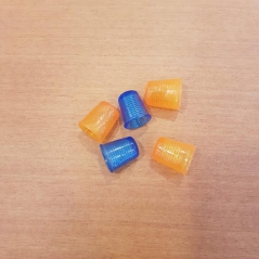 Dedal em silicone - tamanho S