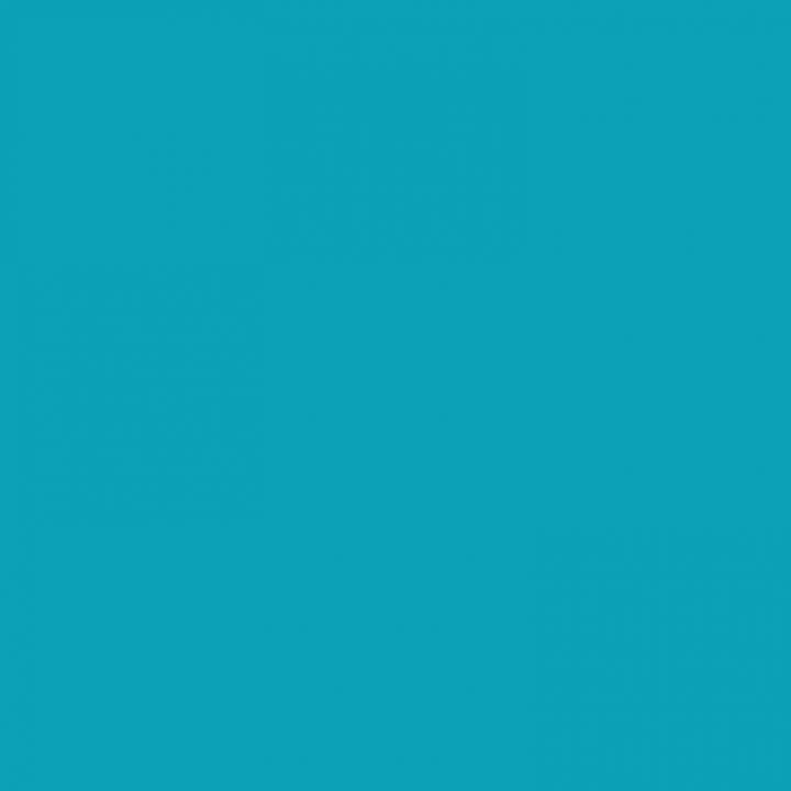 Tecido 100% Algodão - Azul Turquesa