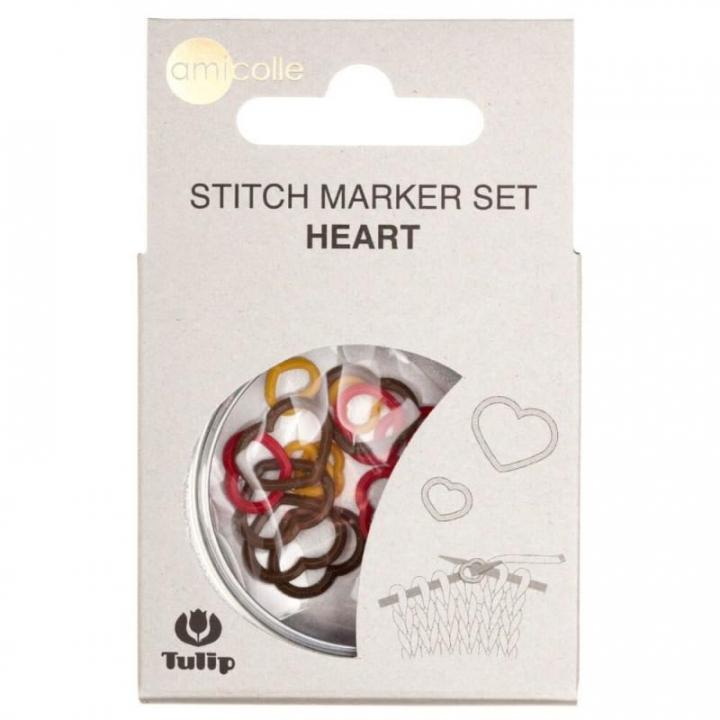 Conjunto de Marcadores em formato de coração - Tulip (AC-016E)