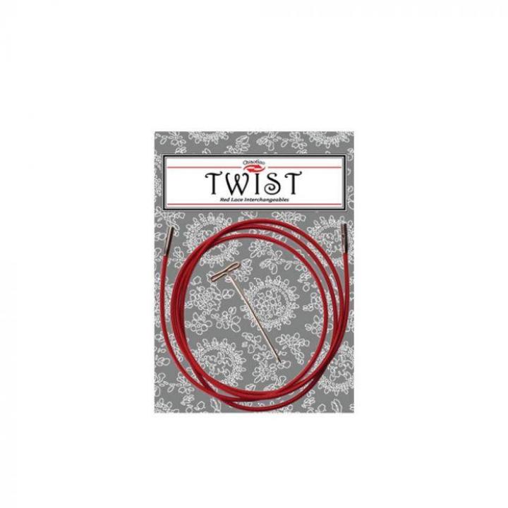 Cabos para agulhas Intercambiáveis Twist ChiaoGoo 75cm Large